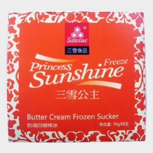 奶油白糖棒冰